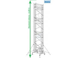 Rusztowanie aluminiowe jezdne składane KRAUSE - ProTec XS 2,00m x 0,70m