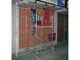 Rusztowanie aluminiowe jezdne KRAUSE - STABILO 500