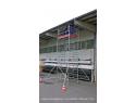 Rusztowanie aluminiowe jezdne KRAUSE - STABILO 5000. 2,50m x 1,50m Wysokość robocza: 12,3m